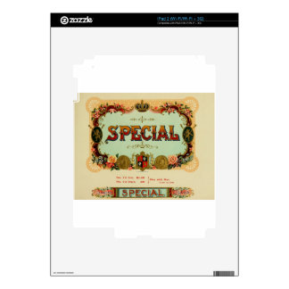 Its a special day so slow down and enjoy it iPad 2 decal