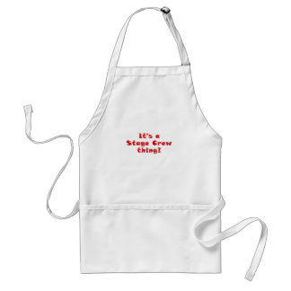 Its a Stage Crew thing Adult Apron