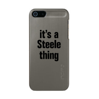 its a steele thing incipio feather® shine iPhone 5 case