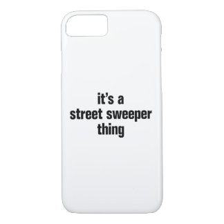 its a street sweeper thing iPhone 8/7 case