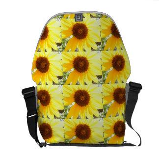 Its A Sunflower World Messenger Bag