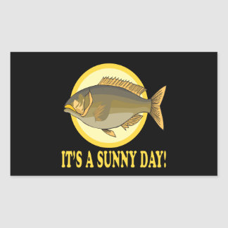 Its A Sunny Day Rectangular Sticker
