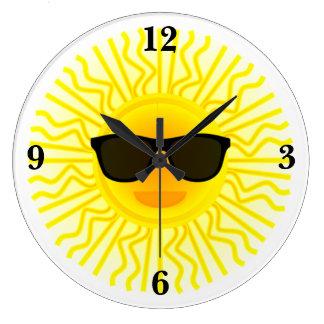 It's A Sunny Day Wall Clock