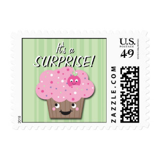 It's a Surprise! Cuppy Postage