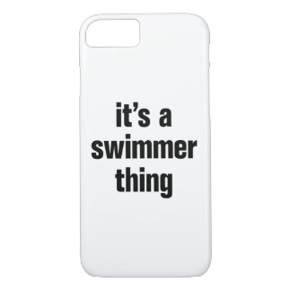 its a swimmer thing iPhone 8/7 case
