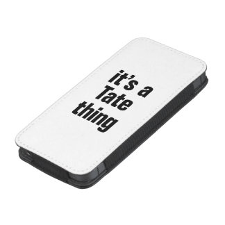 its a tate thing iPhone 5 pouch