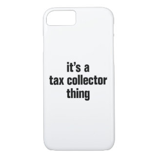 its a tax collector thing iPhone 8/7 case