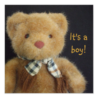 It's a Teddy Bear! Card