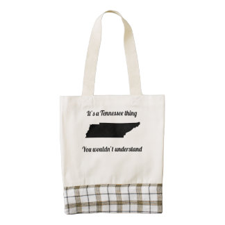 It's A Tennessee Thing Zazzle HEART Tote Bag