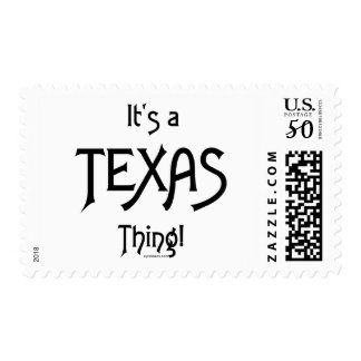 It's A Texas Thing! Postage