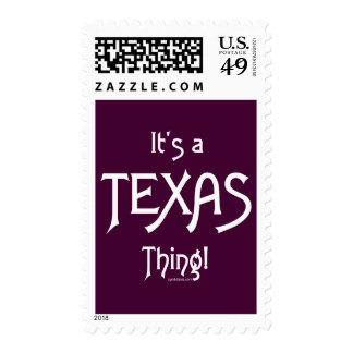 It's A Texas Thing! Postage Stamps