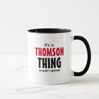 It's a Thomson thing you wouldn't understand! Mug