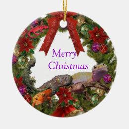 Its A Tokay Kinda Holiday Tree Ornament