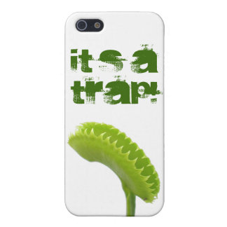 It's a trap! cover for iPhone SE/5/5s