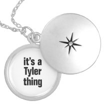 its a tyler thing locket necklace