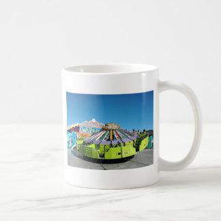 Its a UFO Classic White Coffee Mug