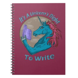 It's A Unicorn's Right To Write Notebook