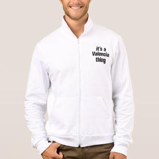 its a valencia thing printed jackets