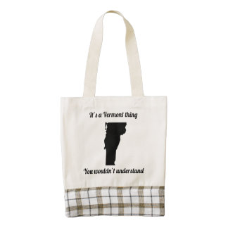 It's A Vermont Thing Zazzle HEART Tote Bag
