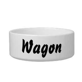 It's a wagon thing! bowl
