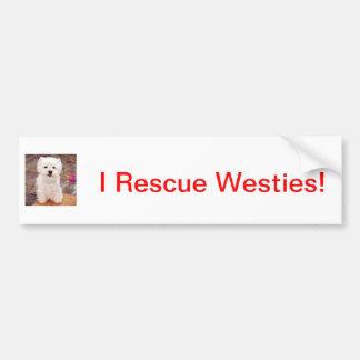 It's A Westie Thing! Bumper Stickers