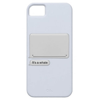It's a Whale iPhone 5 Cover