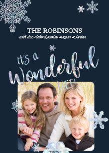 Its A Wonderful Life Christmas Photo Card