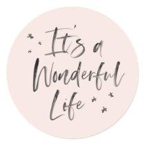 It's a Wonderful Life Sticker