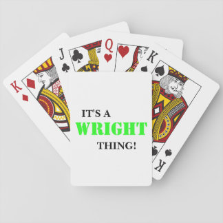 IT'S A WRIGHT THING! CARD DECK