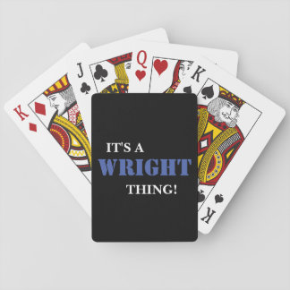 IT'S A WRIGHT THING! CARD DECKS