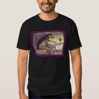 It's a writer's life - greyhound tee shirt