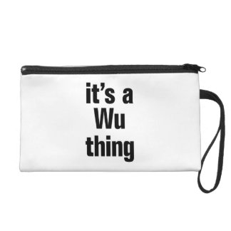 its a wu thing wristlet clutches