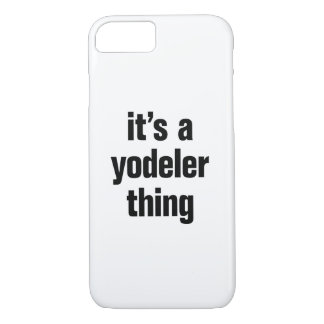 its a yodeler thing iPhone 8/7 case