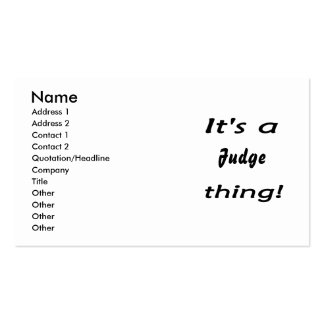 It's a (your) thing! Double-Sided standard business cards (Pack of 100)