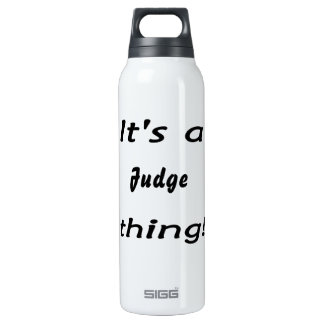It's a (your) thing! 16 oz insulated SIGG thermos water bottle