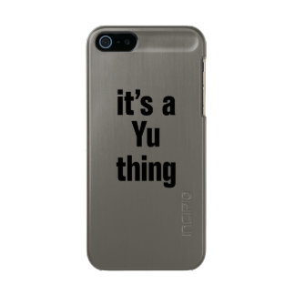 its a yu thing incipio feather® shine iPhone 5 case