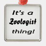 It's a Zoologist thing! Christmas Ornaments