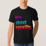 It's About Equality Gay Rights Products Shirt