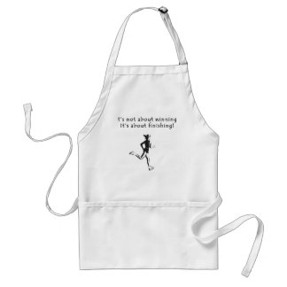 It's about finishing adult apron