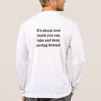 It's about how much you can take t shirt