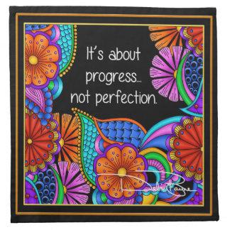 It's About Progress Napkin