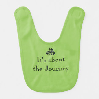 It's about the Journey Baby Bib
