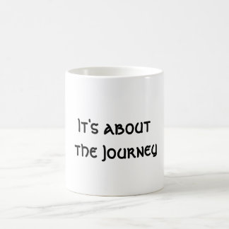 It's about the Journey Coffee Mug