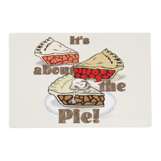 Its About the Pie Placemat
