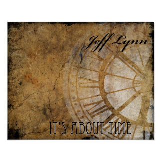 It's About Time CD Poster