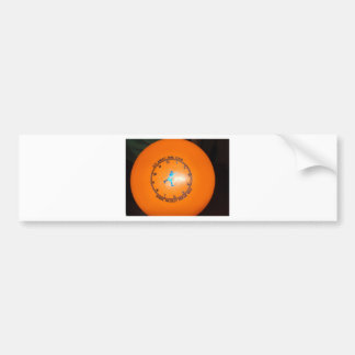 It's About Time Tour Disc Picture Bumper Sticker