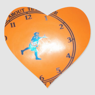 It's About Time Tour Disc Picture Heart Sticker