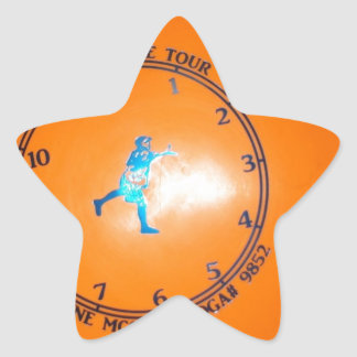 It's About Time Tour Disc Picture Star Sticker