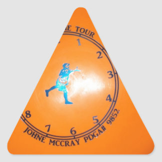 It's About Time Tour Disc Picture Triangle Sticker