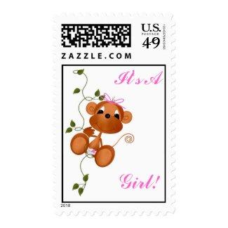 It's AGirl! Stamp